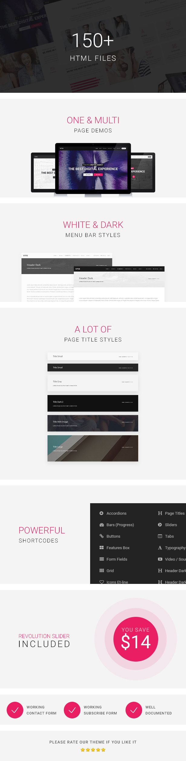 Stig - Multipurpose One/Multi Page Template